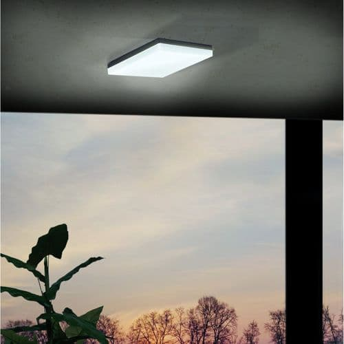 Eglo Outdoor 94872 Sonella Outdoor LED Wall / Ceiling Light Anthracite